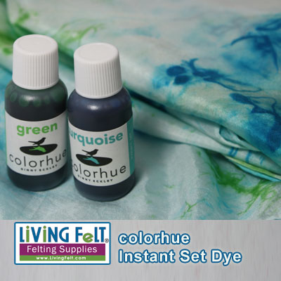 dye or acid dye and colorhue instant dye