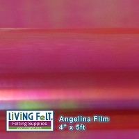 Angelina Film - 4inx5ft - Electric Pink