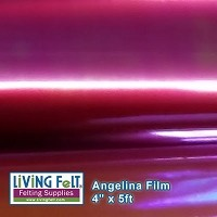 Angelina Film - 4inx5ft - Fuchsia
