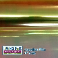 Angelina Film - 4inx5ft - Lemon Sparkle