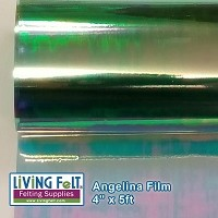Angelina Film - 4inx5ft - Mint Sparkle
