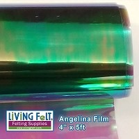 Angelina Film - 4inx5ft - Peacock
