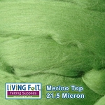 Merino Top – 21.5 Micron - Leaf