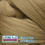 Merino Top – 21.5 Micron - Oak