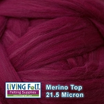 Merino Top - 21.5 Micron – Ruby