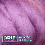 Merino Top – 21.5 Micron - Beauty Berry