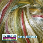 Merino Silk Blend 70/30 - Meadow
