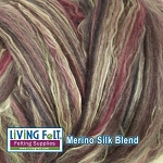 Merino Silk Blend 80/20 - Black Currant