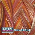 Merino Silk Blend 80/20 - Sunset
