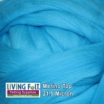 Merino Top – 21.5 Micron Peacock