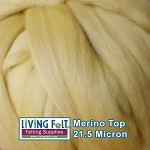 Merino Top – 21.5 Micron - Yellow