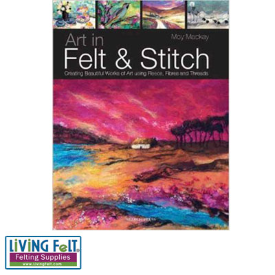 felting books and needle felting books