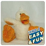 Needle Felting Kit: Just Ducky