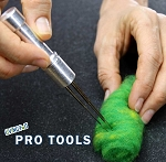 Needle Felting Tool - Up to 4 Felting Needles