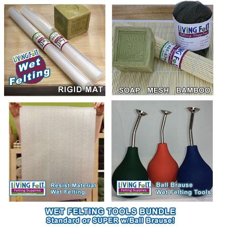 Wet Felting Supplies