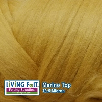 Merino Top – 19.5 Micron - Honey