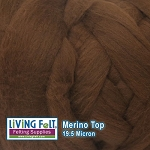 Merino Top – 19.5 Micron - Milk Chocolate