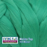 Merino Top – 19.5 Micron - Sea Glass