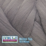 Merino Top – 19.5 Micron - Smoke