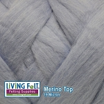 Merino Top – 19.5 Micron - Powder Blue