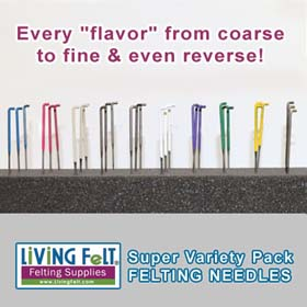 Felting Needles SUPER Variety Pack  - Every 'Flavor' Felting Needle