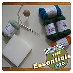 Green Soy Needle Felting Professional Foam Work Surface 21x15