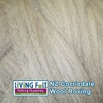 NZ Corriedale Wool - Natural Light
