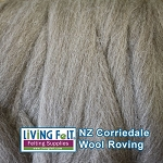 NZ Corriedale Wool  – Natural Medium