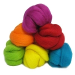 NZ Corriedale  Wool  – Spanish Fiesta