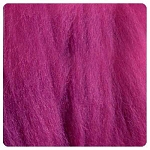 NZ Corriedale Wool  – Magenta