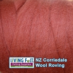 NZ Corriedale Wool  – Nutmeg