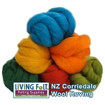 NZ Corriedale Wool  – Amazon Rainforest