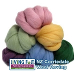 NZ Corriedale Wool  – English Garden