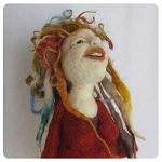 Needle Felting Doll  Workshop