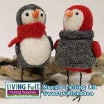 Needle Felting Kit: Chickadee