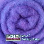 MC-1™    Merino Cross Batt – Grape