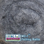 MC-1™    Merino Cross Batt – Charcoal Gray