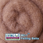 MC-1™    Merino Cross Batt – Clay