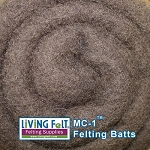 MC-1™    Merino Cross Batt – Dark Chocolate