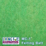 MC-1™    Merino Cross Batt – Jellybean Green