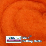 MC-1™    Merino Cross Batt – Mandarine
