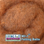MC-1™    Merino Cross Batt – Pumpkin Spice