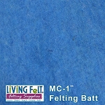 MC-1™    Merino Cross Batt – Blue Azul