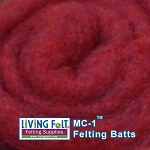 MC-1™    Merino Cross Batt – Ruby