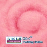 MC-1™    Merino Cross Batt – Soft Pink