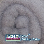 MC-1™    Merino Cross Batt –Winter Gray