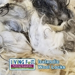Natural Icelandic Locks - Black & White