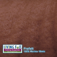 Prefelt 100% Merino Wool  19.5 Micron  Copper
