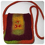 Wet Felting Purse Kit