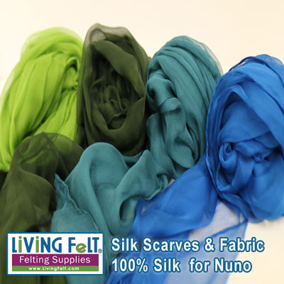 Silk Scarves & Fabric
